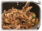 "Carnitas is also known as ""pulled pork."""